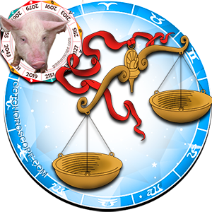 Libra Pig Chinese Horoscope and Zodiac Personality