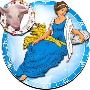 Virgo Personality born in Pig year