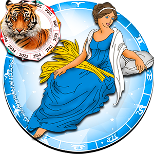 Virgo Personality born in Tiger year