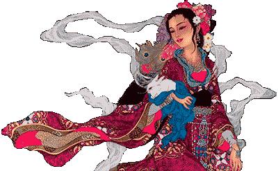 Chang'e Chinese Moon goddess of Love
