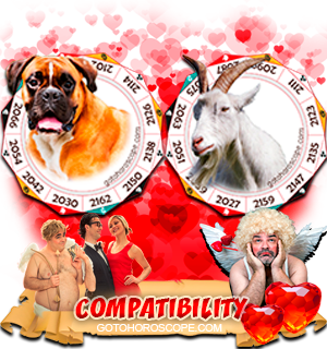 Dog Ram Zodiac signs Compatibility Horoscope