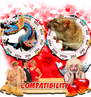 Dragon Rat Zodiac signs Compatibility Horoscope