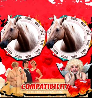 Horse Horse Zodiac signs Compatibility Horoscope