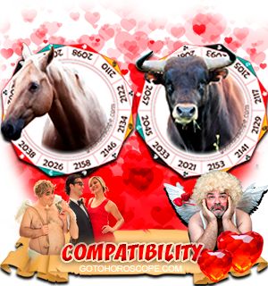 Horse Ox Zodiac signs Compatibility Horoscope