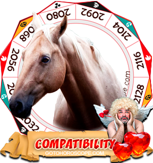 Chinese Zodiac sign Horse Compatibility Horoscope