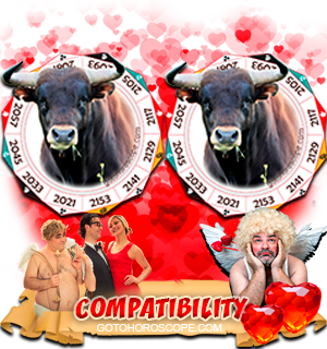 Ox Ox Zodiac signs Compatibility Horoscope