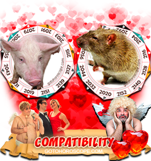 pig rat compatibility chinese horoscope