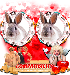 Rabbit Rabbit Zodiac signs Compatibility Horoscope