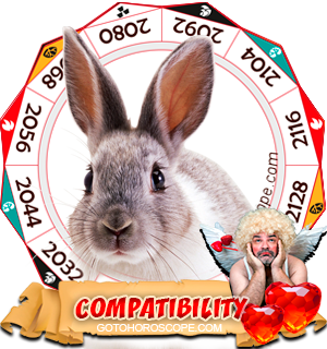 Chinese Zodiac sign Rabbit Compatibility Horoscope