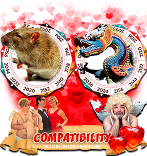 Rat Dragon Zodiac signs Compatibility Horoscope