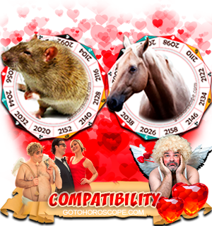 Rat Horse Zodiac signs Compatibility Horoscope