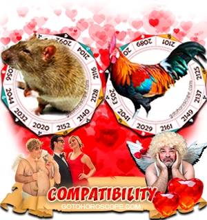 Rat Rooster Zodiac signs Compatibility Horoscope
