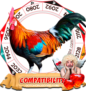 Chinese Zodiac sign Rooster Compatibility Horoscope