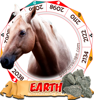 Earth Horse Chinese Astrology Animal Zodiac Personality Horoscope