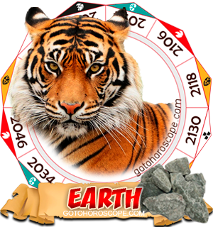 Earth Tiger Chinese Astrology Animal Zodiac Personality Horoscope