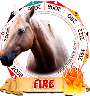 Fire Horse Chinese Astrology Animal Zodiac Personality Horoscope