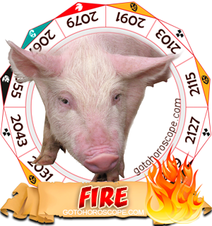 Fire Pig Chinese Astrology Animal Zodiac Personality Horoscope