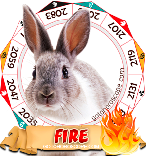 Fire Rabbit Chinese Astrology Animal Zodiac Personality Horoscope