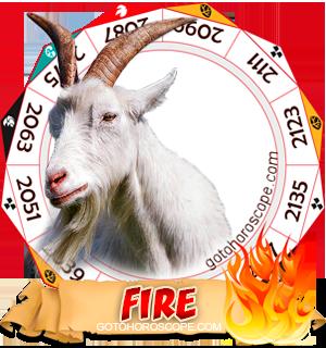 Fire Ram Chinese Astrology Animal Zodiac Personality Horoscope
