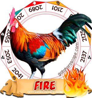 Fire Rooster Chinese Astrology Animal Zodiac Personality Horoscope