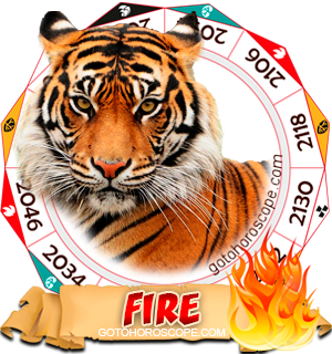 Fire Tiger Chinese Astrology Animal Zodiac Personality Horoscope