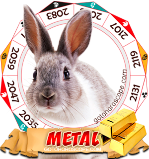 Metal Rabbit Chinese Astrology Animal Zodiac Personality Horoscope