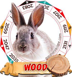 Wood Rabbit Chinese Astrology Animal Zodiac Personality Horoscope