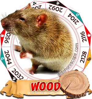 Wood Rat Chinese Astrology Animal Zodiac Personality Horoscope