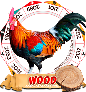 Wood Rooster Chinese Astrology Animal Zodiac Personality Horoscope