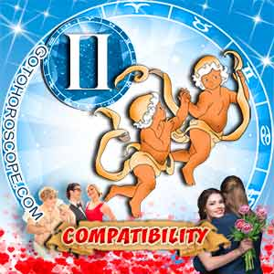 Gemini Zodiac sign Partnership Compatibility Horoscope