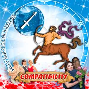 Sagittarius Zodiac sign Partnership Compatibility Horoscope