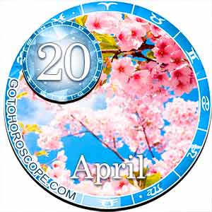 Daily Horoscope for April 20, 2018