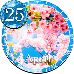 Daily Horoscope for April 25, 2016