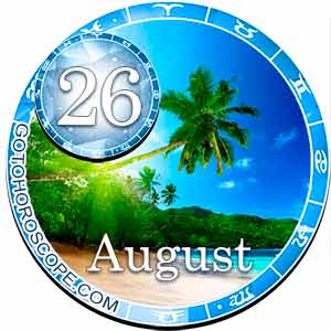 Daily Horoscope for August 26, 2018