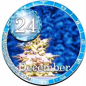 December 24 Birthday Horoscope