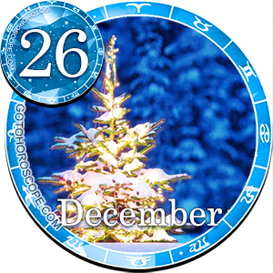 Daily Horoscope December 26, 2013 for all Zodiac signs