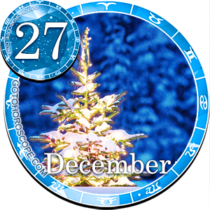 Daily Horoscope December 27, 2012 for all Zodiac signs