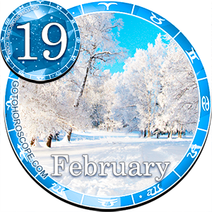Daily Horoscope for February 19, 2012