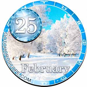 Daily Horoscope for February 25, 2018
