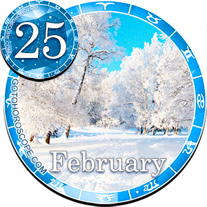Daily Horoscope for February 25, 2013