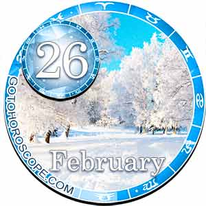 Daily Horoscope for February 26, 2018