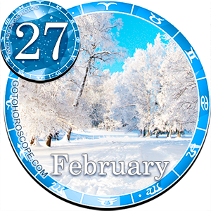 Daily Horoscope for February 27, 2013