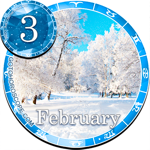 Daily Horoscope February 3, 2013 for 12 Zodica signs