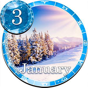 Daily Horoscope January 3, 2013 for all Zodiac signs