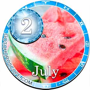Daily Horoscope for July 2, 2018