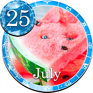 Daily Horoscope for July 25, 2015