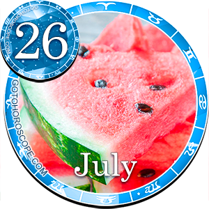 Daily Horoscope for July 26, 2014