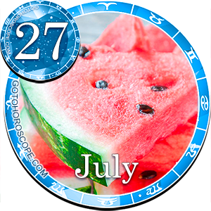 Daily Horoscope for July 27, 2013