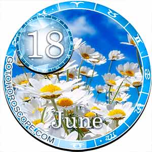 Daily Horoscope June 18, 2018 for 12 Zodica signs