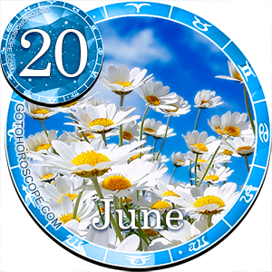 Daily Horoscope for June 20, 2013